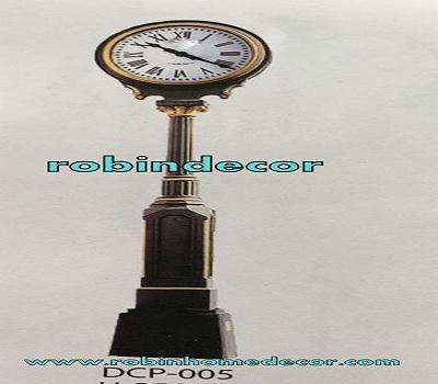 Cast Iron Antique Out Door Garden Clock