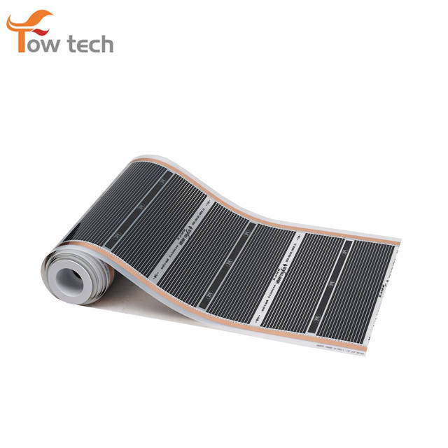Partial Overheating Protection Floor Heating Far Infrared Ray Radiant Electric PTC Carbon Heating Film TSWM