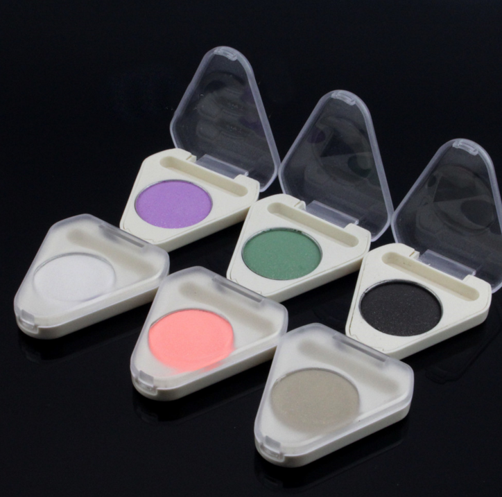 2019 hot private label oem make-up enkel oogschaduw pan enkele geperst oogschaduw kleur make-up oogschaduw