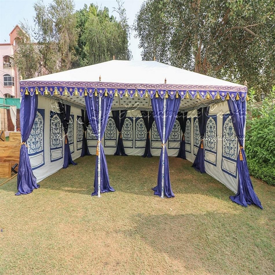 Hot selling large Indian Canvas Wedding Marquee