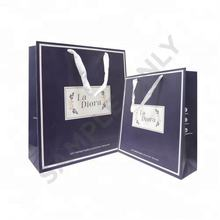Paper Shopping Bags with Your Own Logo with Handle from Malaysia