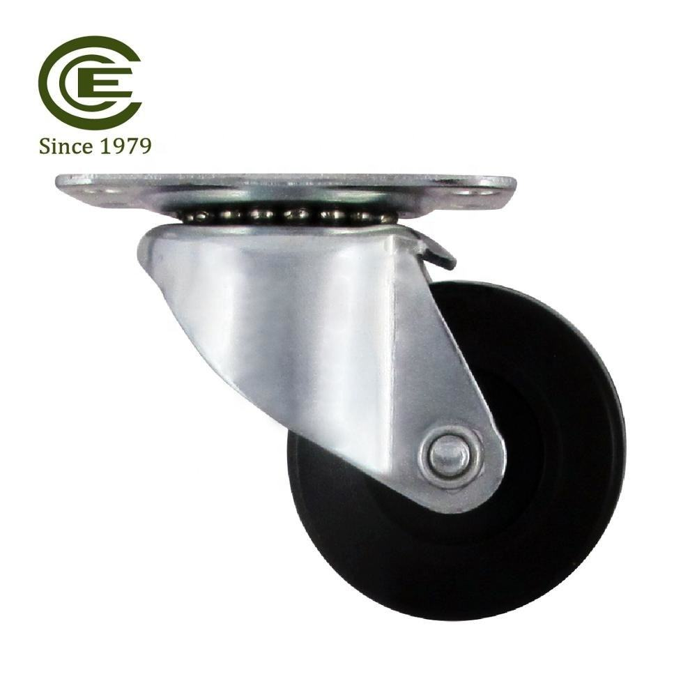 CCE Caster 2 Inch Small Swivel Plate Castor Wheel For Plant Stand Home Depot