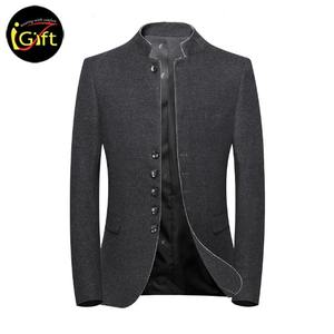 BSCI 2019 New design modern Wool slim fit Men's Modern Fit custom blazer men suit