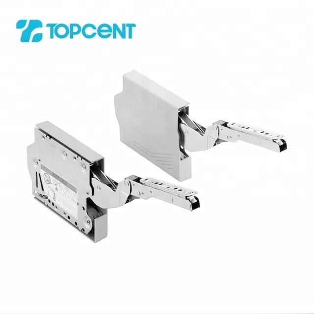 TOPCENT Kitchen heavy duty hydraulic lid stay arm cabinet support flap stay for furniture
