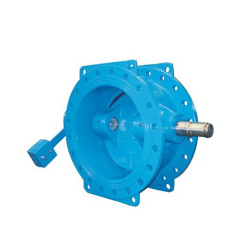 tilting check valve with counter weight, flange connection