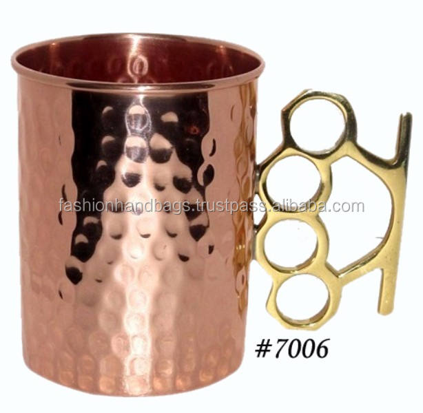 Classical Copper Hammered Moscow Mug Wholesale manufacturer
