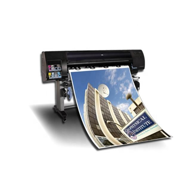 Full colour large format cheap custom poster printing with lamination