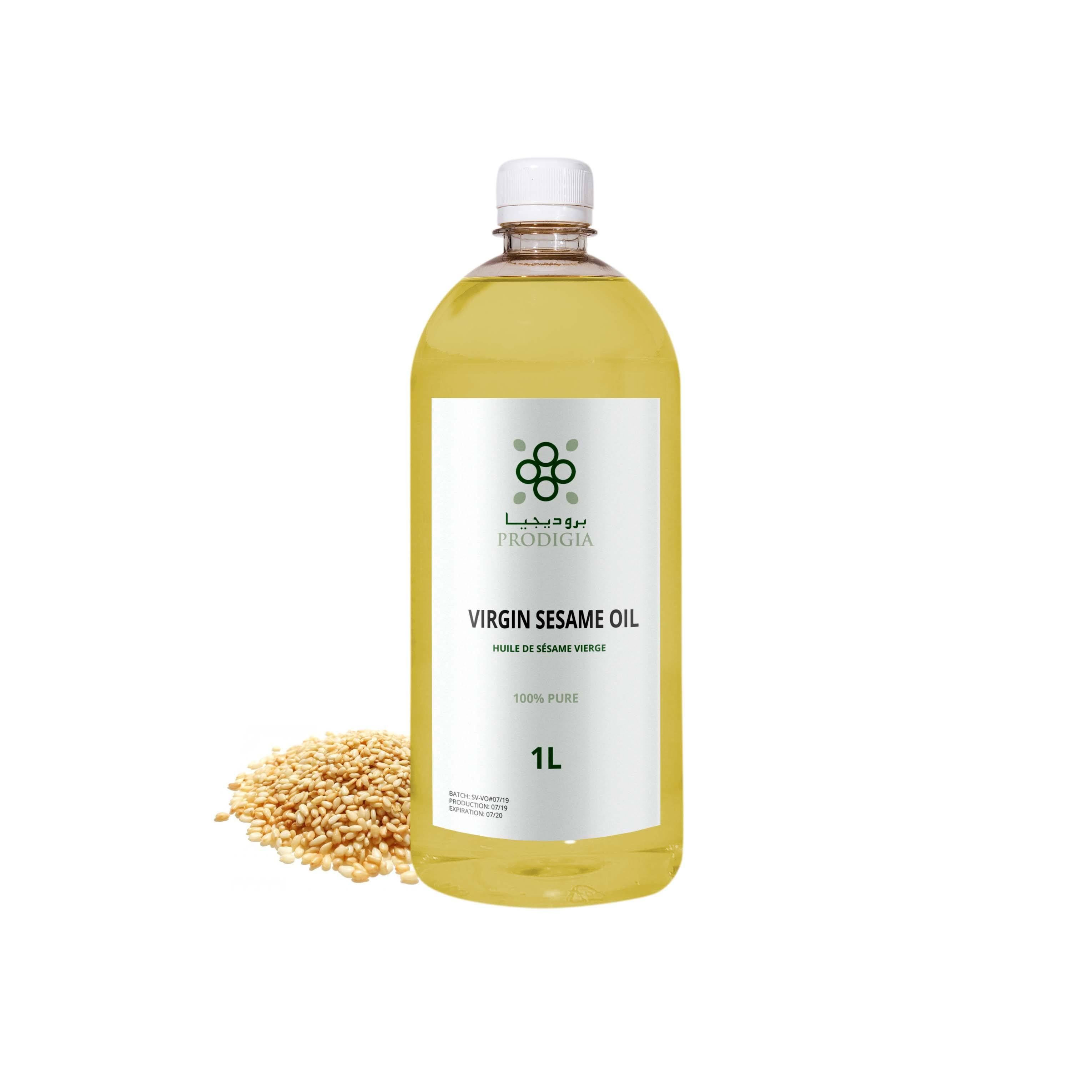 100% Natural & Pure Sesame Oil Best Price - Premium Quality From Moroccan Supplier