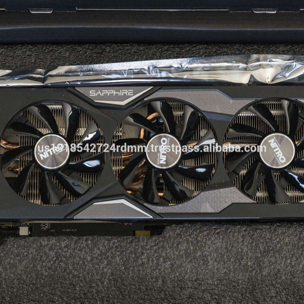 Factory Original 100% Genuine Sapphire Radeon NITRO R9 Fury 4GB HBM HDMIDVI-D PCI-Express Graphics C