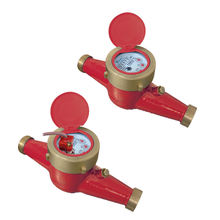 DN20 Multi-Jet Dry Dial HOT Water Meter with Pulse Output