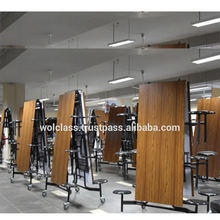 High Quality Best Wooden Postforming Folding Table Sets made In Malaysia Furniture Exporter