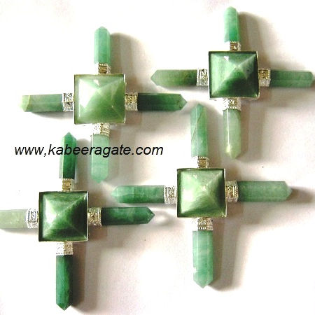 Wholesale Pyramid Generator / Wholesale New Age Products : Green Aventurine Energy Generator