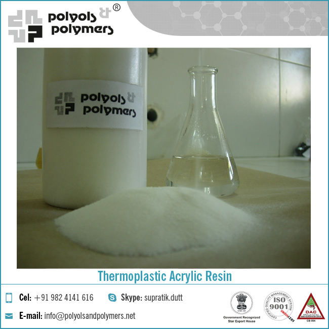 Co Polymer Acrylic Thermoplastic Resin