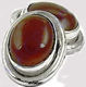 2013 New Fashionable Red Onyx Cuff Links For Men's, 925 Sterling Silver Jewelry