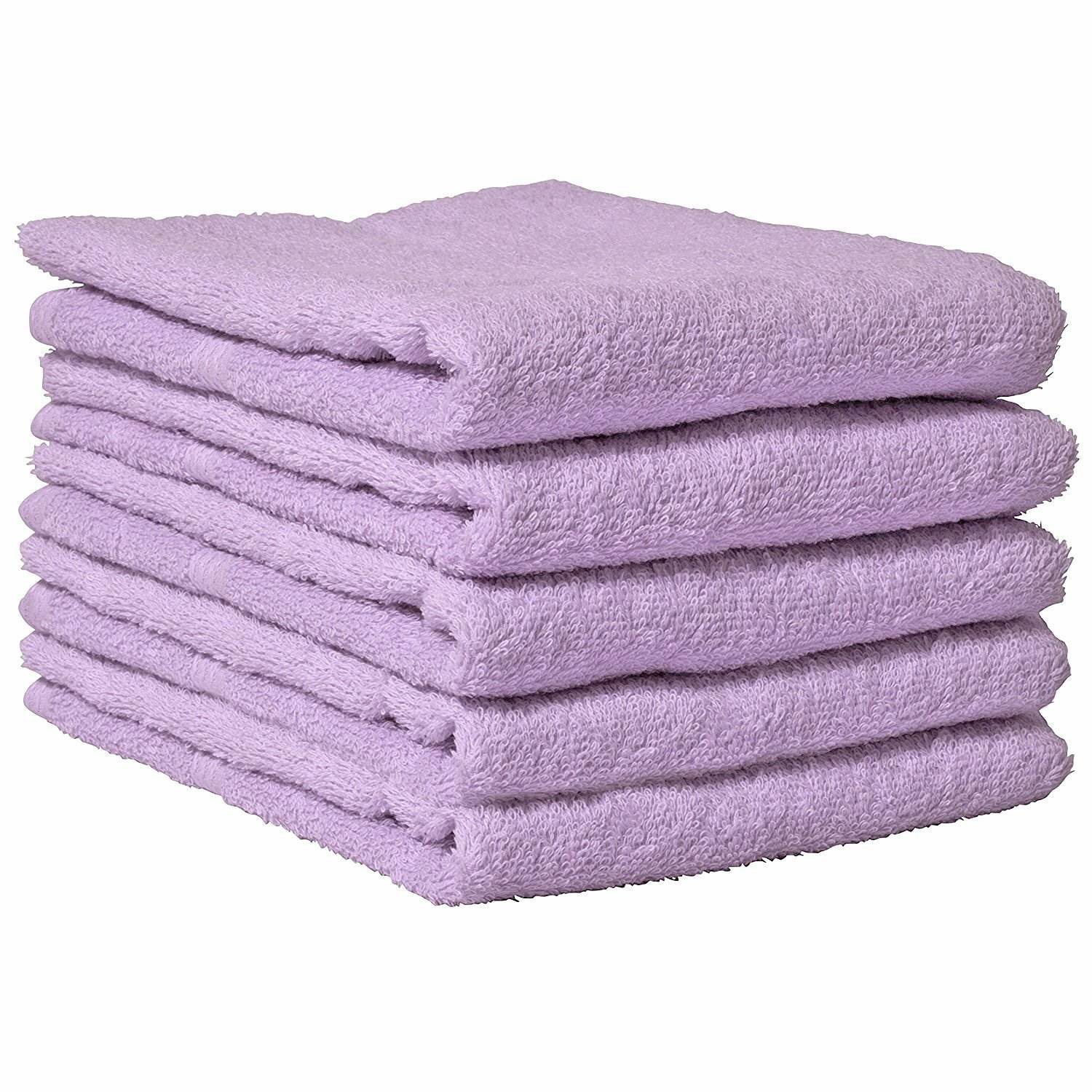 Cheap price thin towel Daily Towel made in Japan Osaka Sensyu cotton 100% Face towel lilac light purple