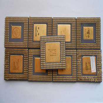 Intel Pentium 386 / 486 CPU Processor Scrap