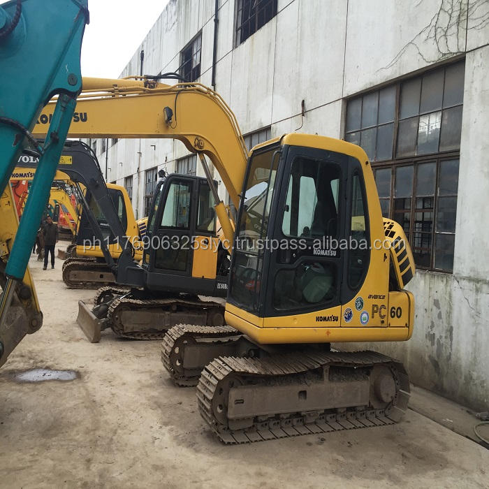 used mini excavator komatsu pc60 /japan used mini excavator for sale /komatsu pc50 pc60 mini digger