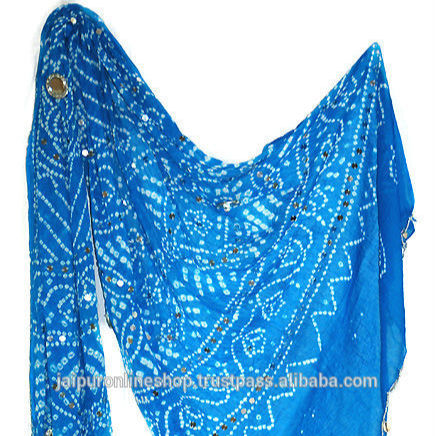 Rajasthani Assorted Cotton Dupatta Scarf Wholesales