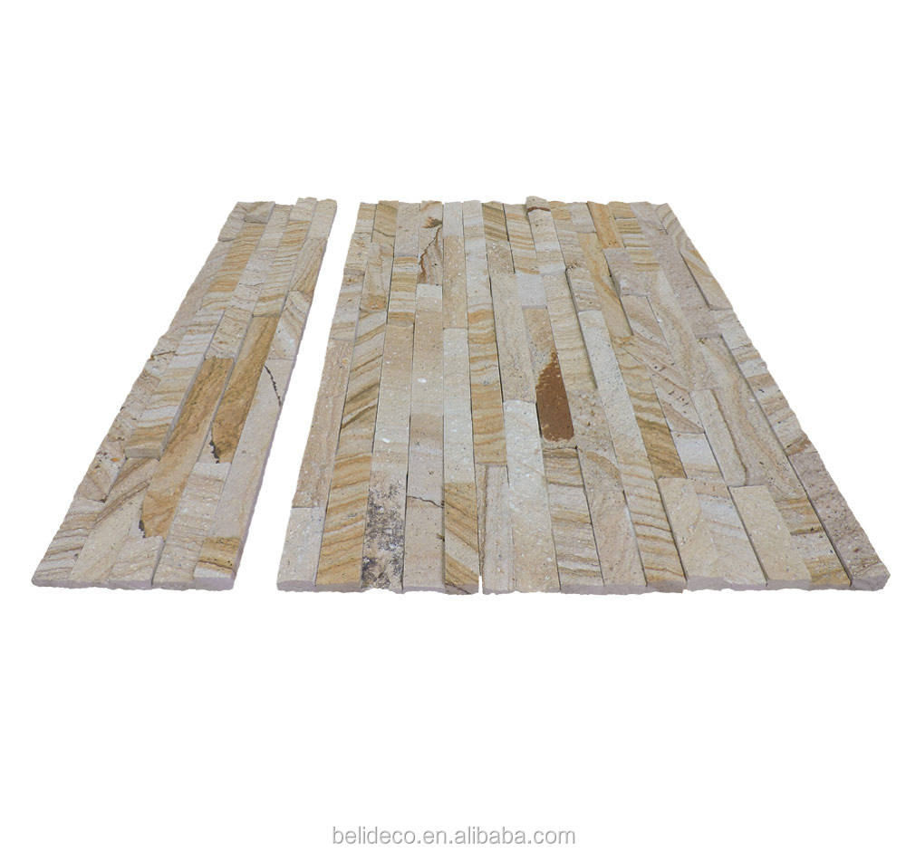Quartzite Stone Wall Cladding/Stack Stone Veneer Panels/Cultured Stone Veneer Lowes