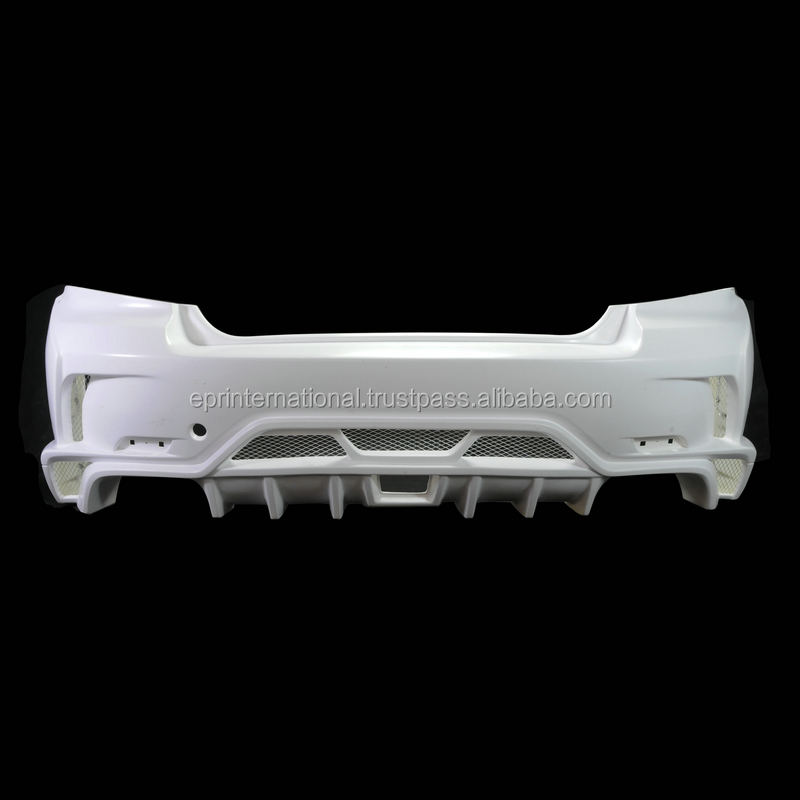 For GVB V Style Ultimate Rear Bumper Fiberglass Auto Car Parts