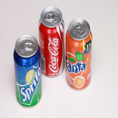 Coca Cola, Fanta, Sprite available for all text