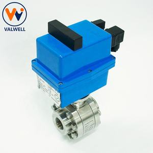 SS Electric Actuator High Pressure Ball Valve