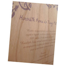 invitation card ,invitation wedding,best sales Colour Printed Veneer Invitations