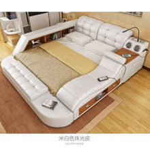 Hot selling simple design King size bed bedroom modern