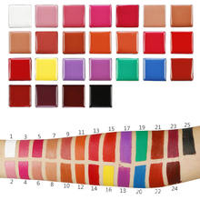 WHOLESALE CUSTOM VEGAN private label makeup 25 shades matte waterproof lipstick set