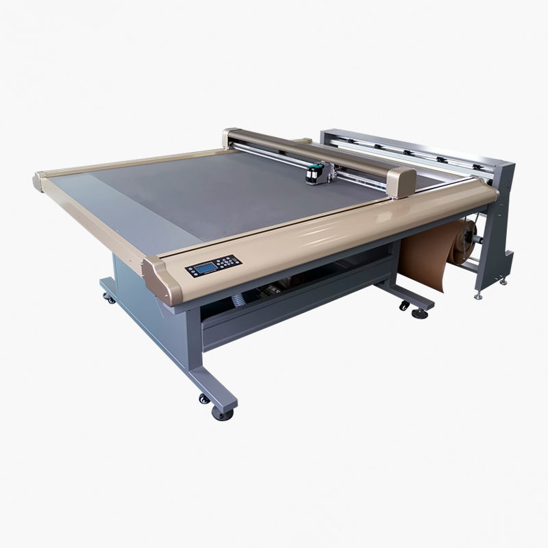 flat cutting plotter MOMO Continuous Flatbed Inkjet Cutter flat bed cutter plotter