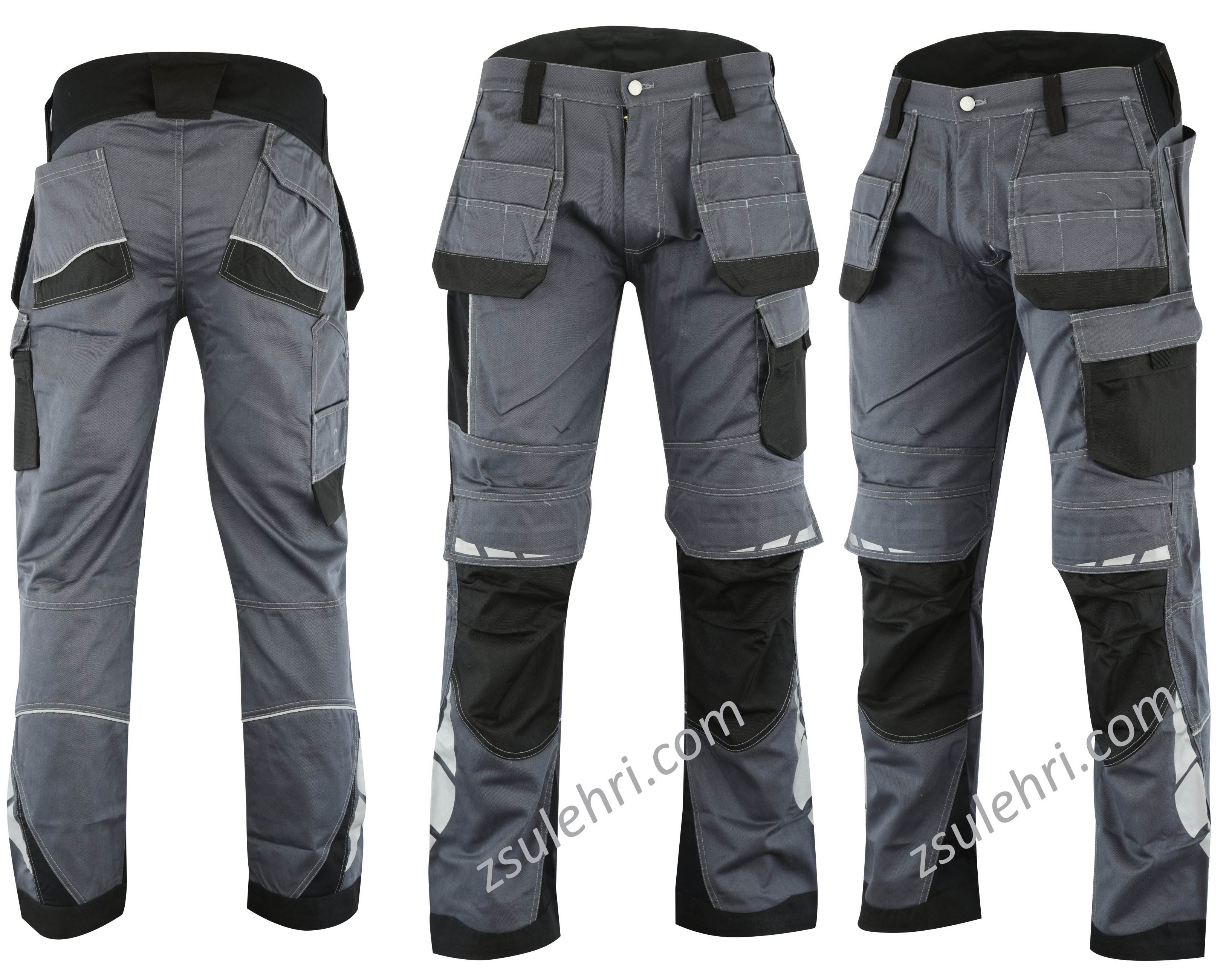 Work pants with Knee pockets Industrial pants Safety Pants Worker trousers