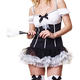 Fancy Dresses and Sexy Costumes Christmas Halloween Party Costume - French Maid styles