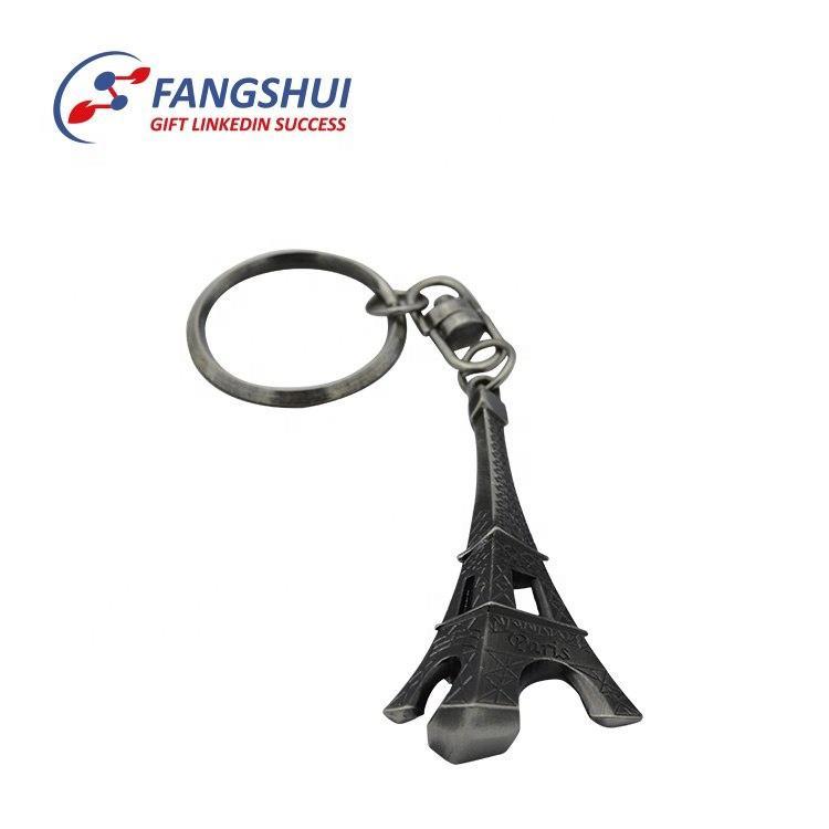 12xCute 3D Paris Eiffel Tower Souvenir Keychain Keyrings Key Chains High Quality