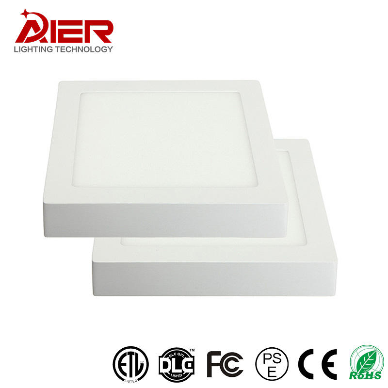 Nano light guide panel 3w 6w 12 watt 6500k dimmable cob led office panel light 12w square led panel light