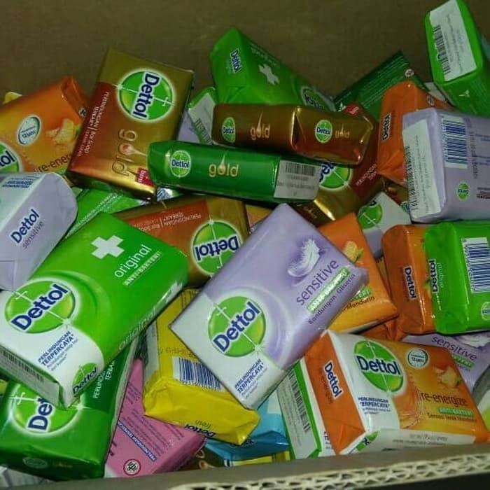 DETTOL BAR SOAP (70gr, 85gr ,105gr & 110gr)