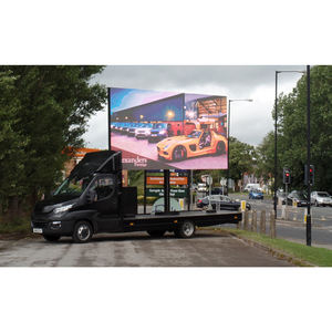Outdoor Building Full Color Advertising Giant Big Screen Ootdoor LED TV