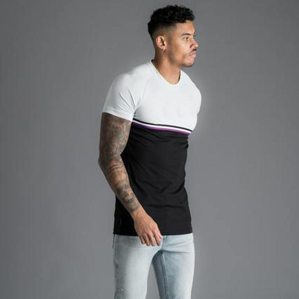 two tone t shirt for men in cheap price come and get