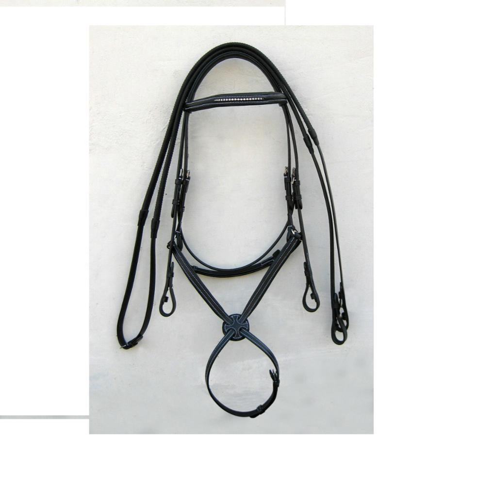Horse Bridle MANUFACTURER HORSE RIDING high jump Bling bridle