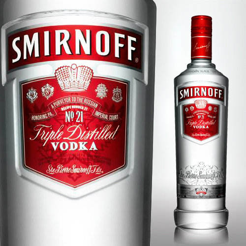 Vodka Smirnoff Whisky