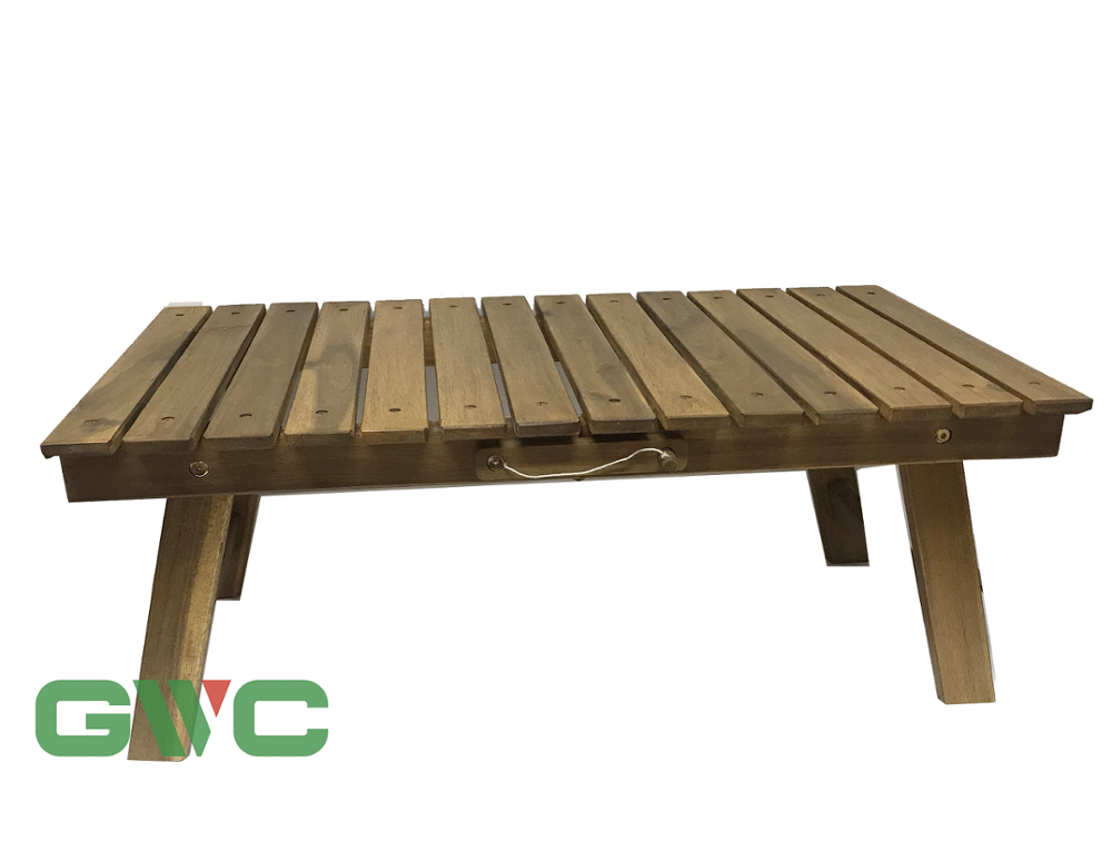 High Quality Acacia Wood Folding Table for 2019
