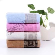Cotton Towel Solid Color Hand, Face, Bath, Kitchen Towels