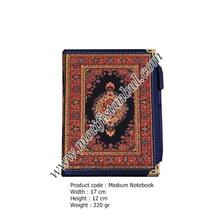 2019 high quality wholesale carpet notebook wallet carpet elegance floral suzani woven design bohemian book motif istanbul