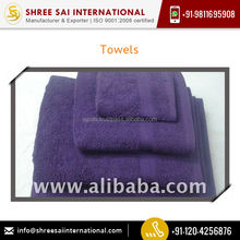 Colorfastness Shrink Resistance Towels Available in Customized Packaging