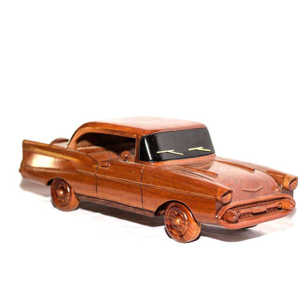 Wood art model car/craft wooden home decoration