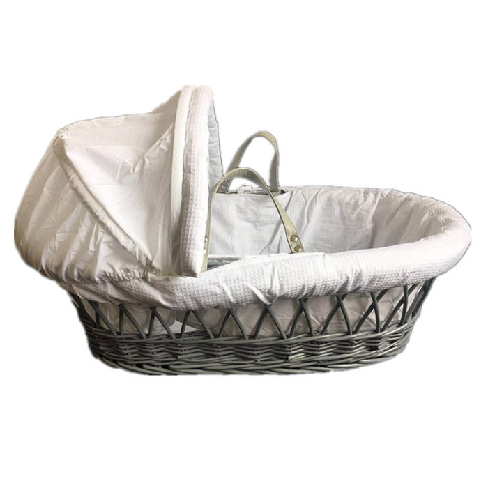 Wholesale eco-friendly and handmadle wicker bassinet