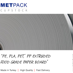 Metpack Cupstock 235gsm Single Side