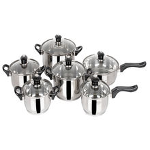 Stainless Steel Pot set 12 Pieces