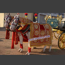 Beautiful Wedding Horse Decoration, Weddings Horses Wear, Indian Wedding Embroidered Horses Costumes