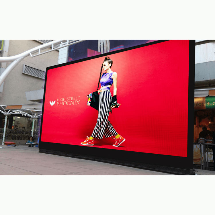 HD Full Color Video Function Giant 20ft Fixed LED Screen Waterproof IP65