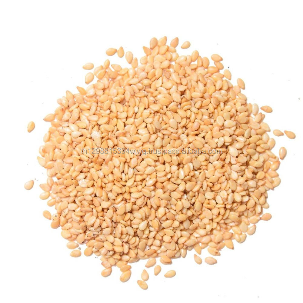 Hulled Sesame Seeds and Sesame Oil